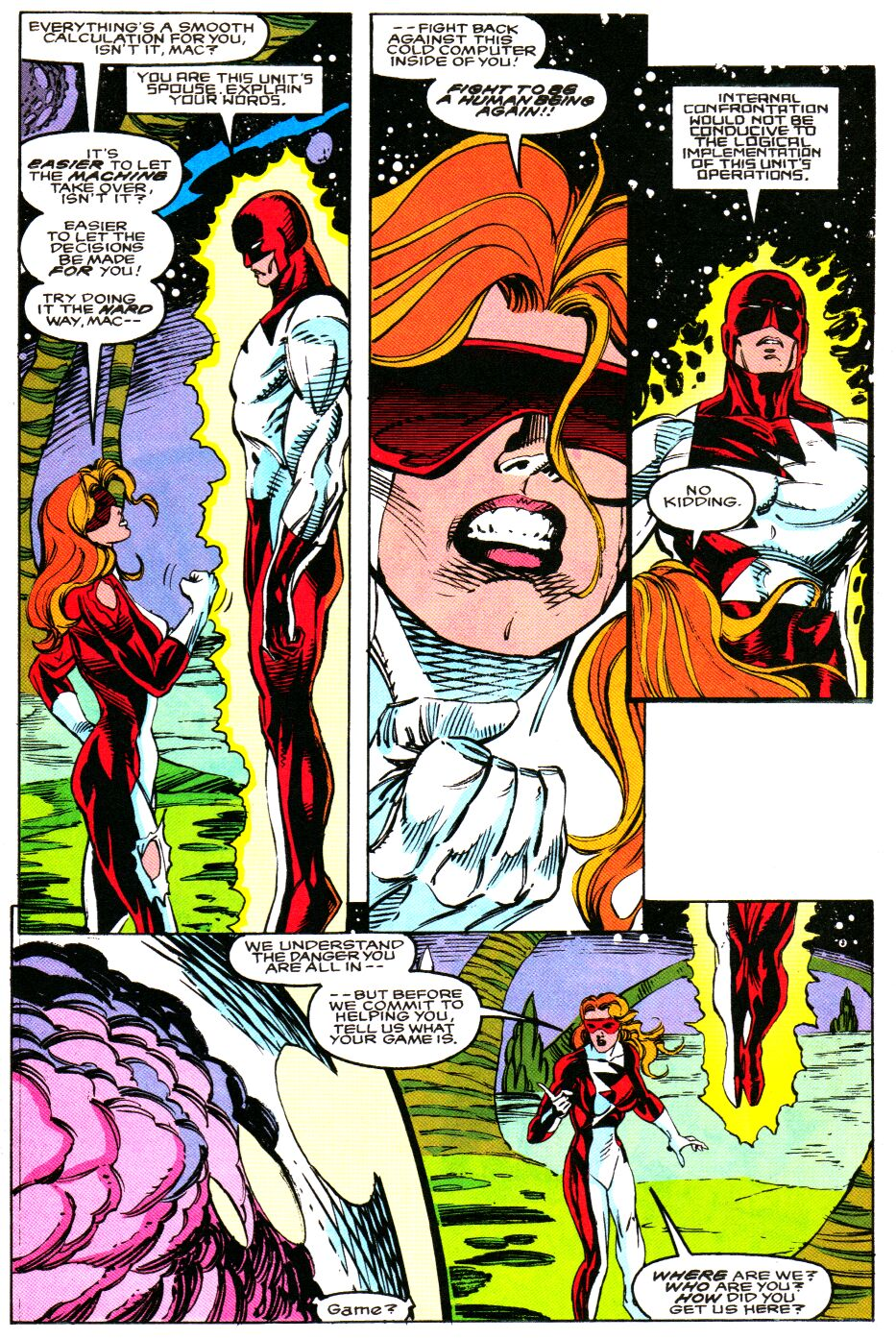 Read online Alpha Flight Special comic -  Issue #4 - 8