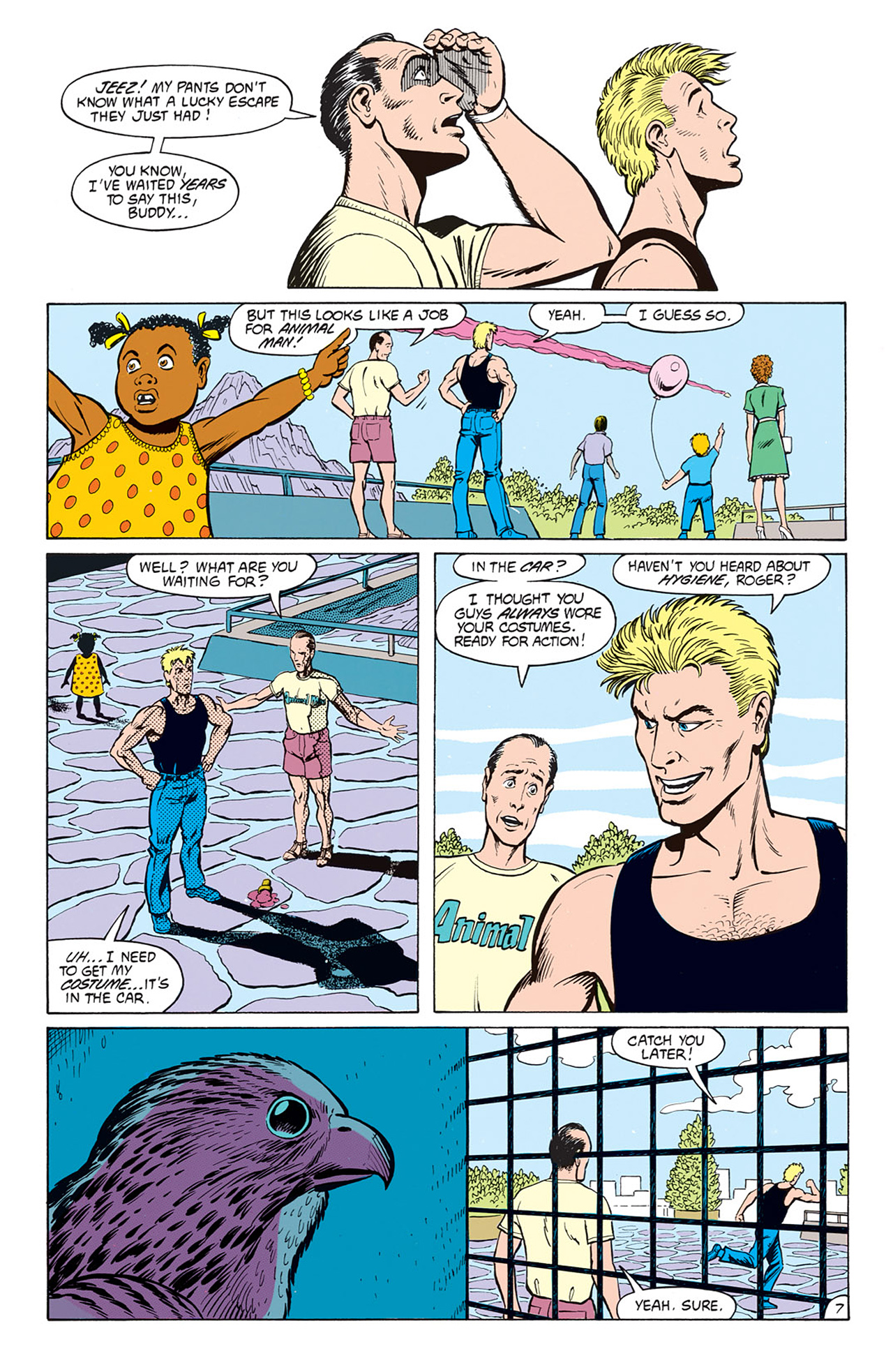 Read online Animal Man (1988) comic -  Issue #6 - 9