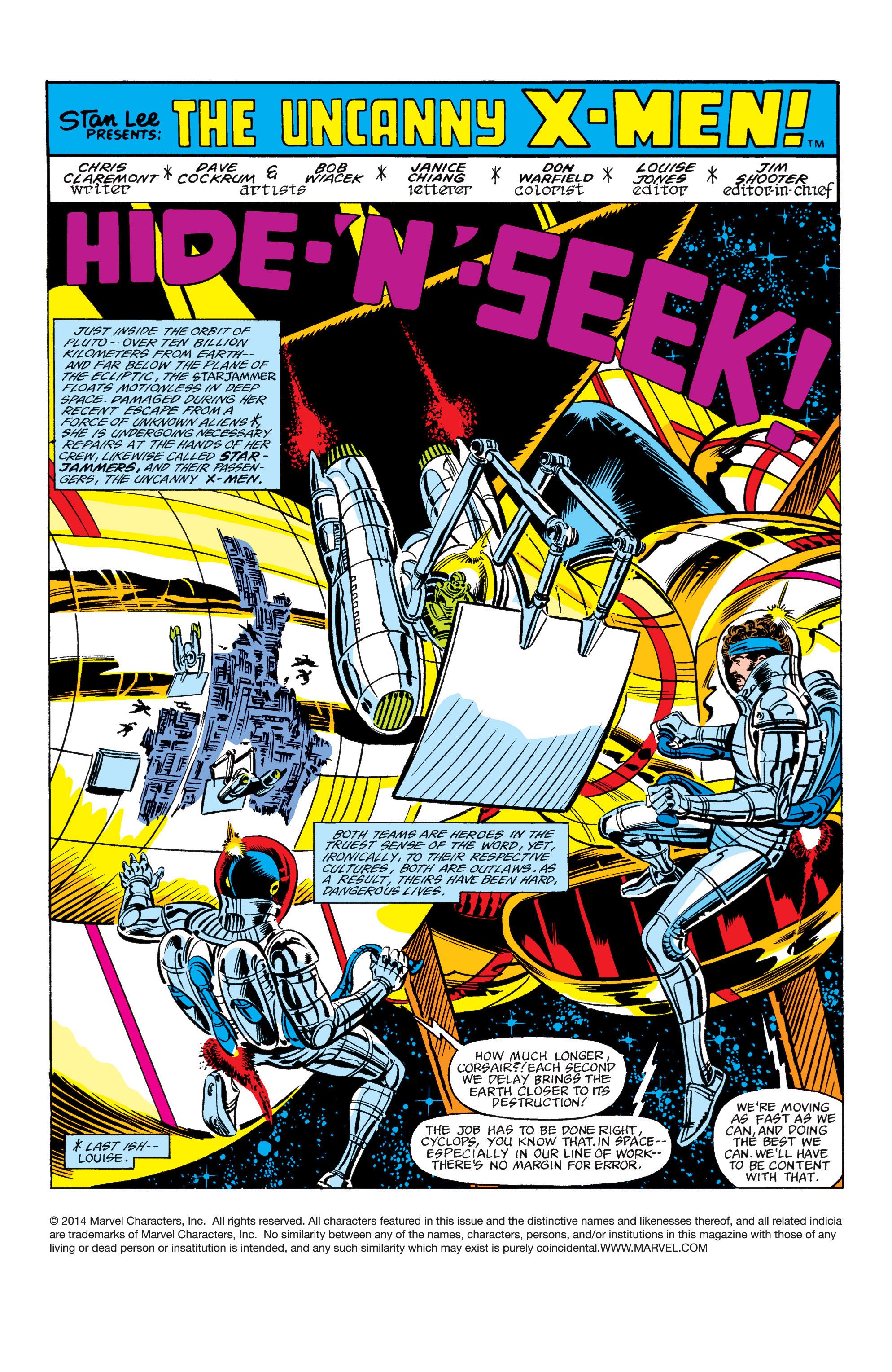 Read online Uncanny X-Men (1963) comic -  Issue #157 - 2