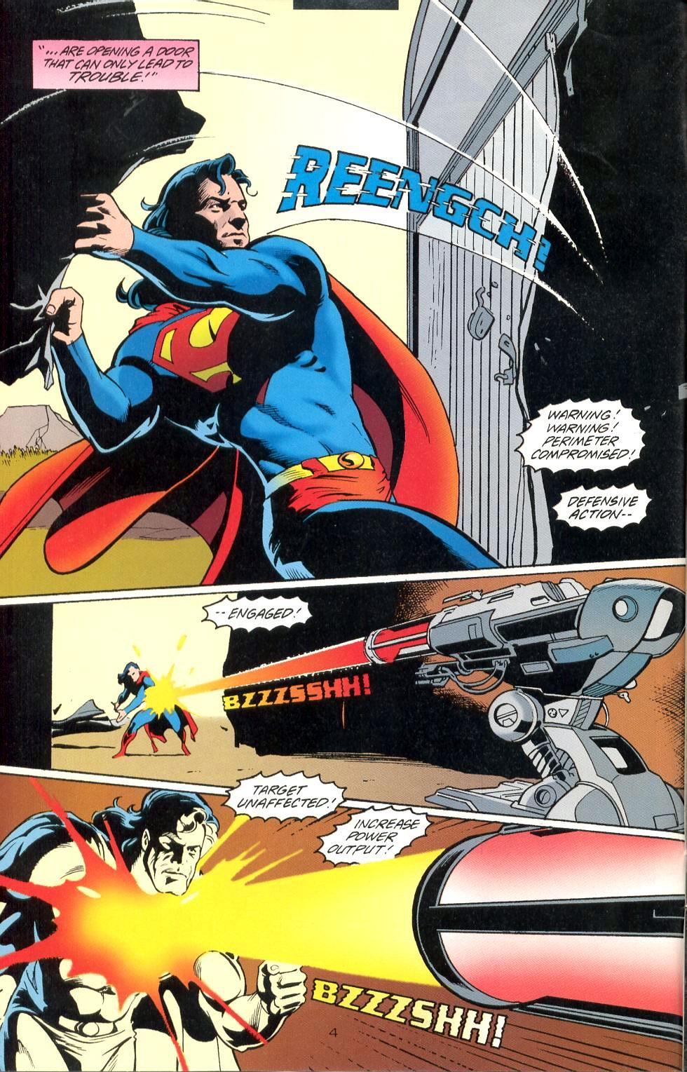 Read online Adventures of Superman (1987) comic -  Issue #525 - 5