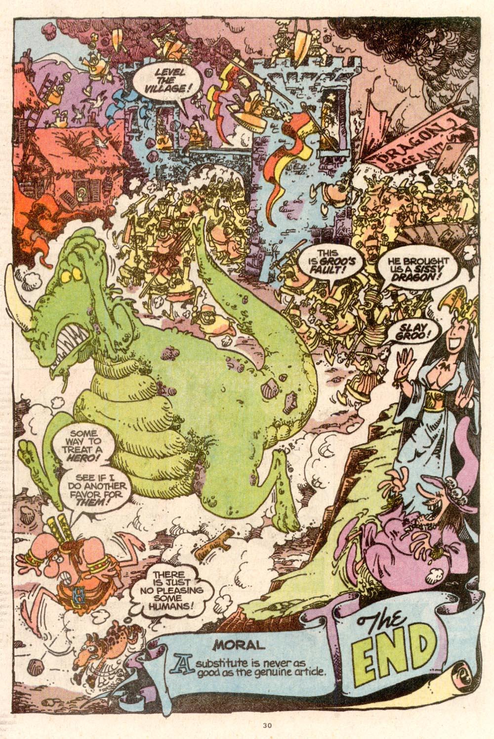 Read online Sergio Aragonés Groo the Wanderer comic -  Issue #67 - 23