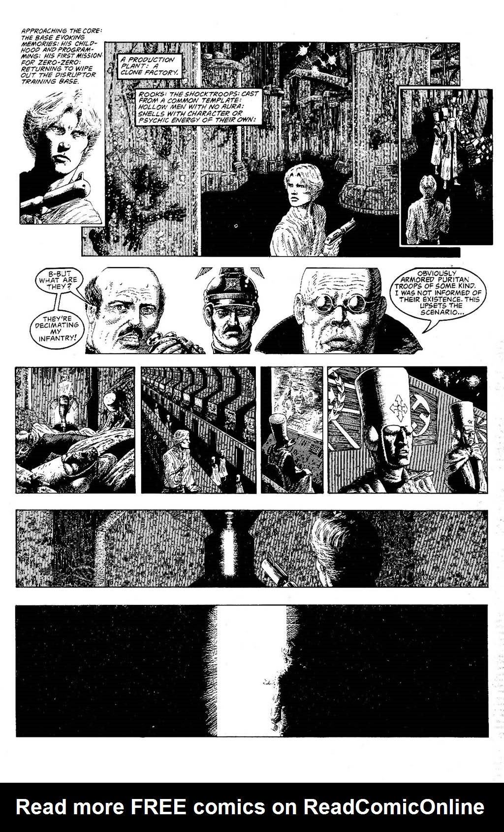 Read online The Adventures of Luther Arkwright comic -  Issue #9 - 9