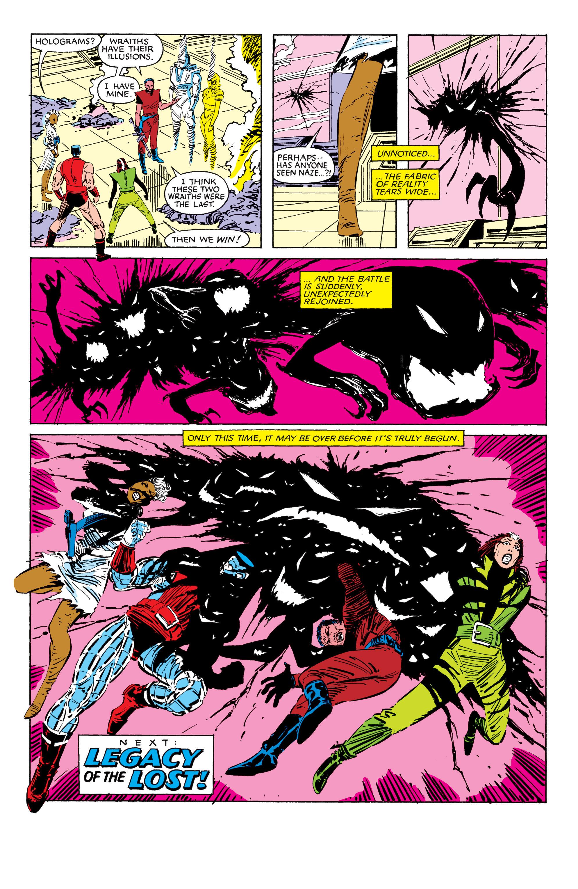 Read online Uncanny X-Men (1963) comic -  Issue #187 - 24
