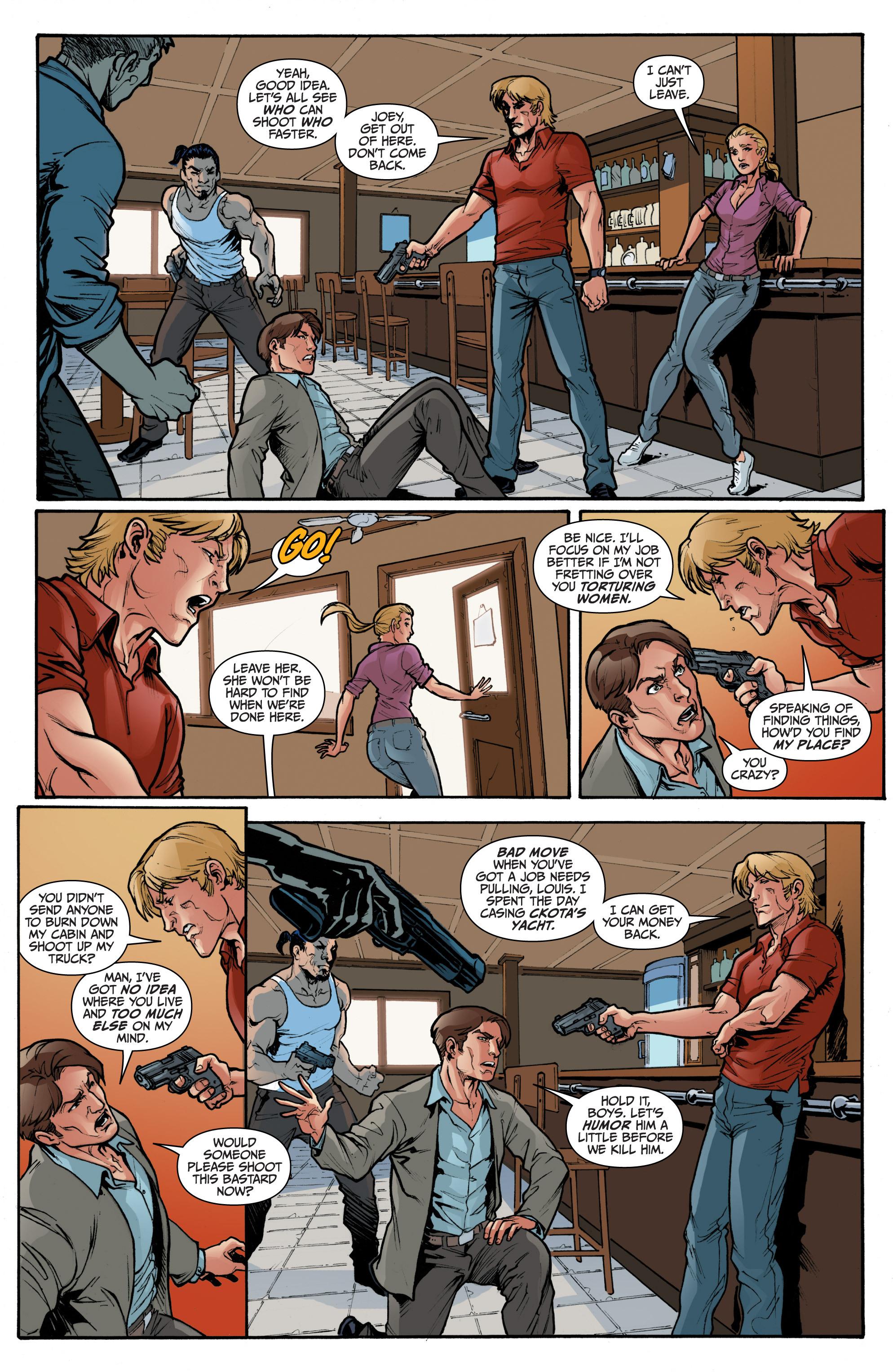 Read online 3 Guns comic -  Issue #2 - 13