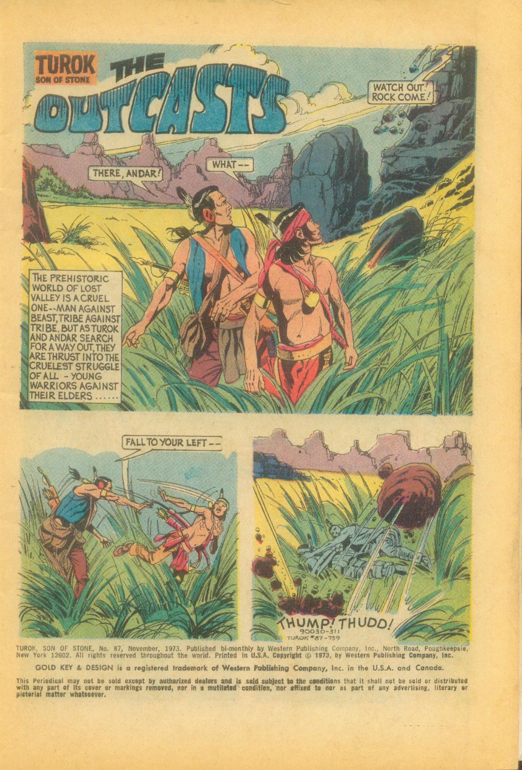 Read online Turok, Son of Stone comic -  Issue #87 - 3