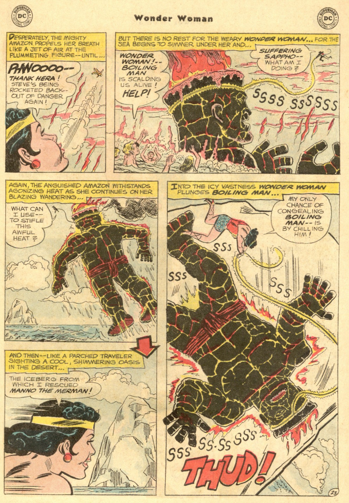 Read online Wonder Woman (1942) comic -  Issue #154 - 31
