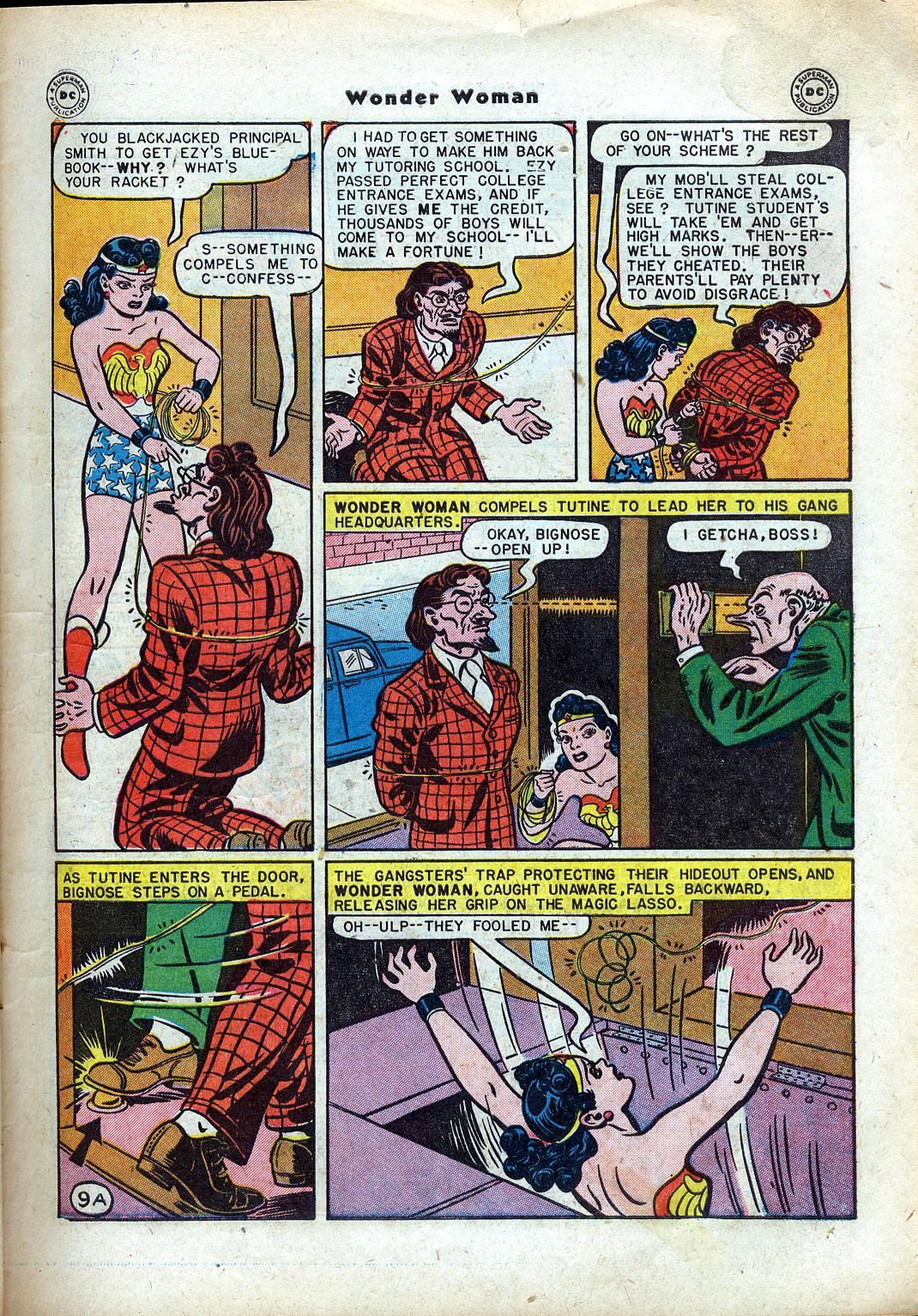 Read online Wonder Woman (1942) comic -  Issue #24 - 11