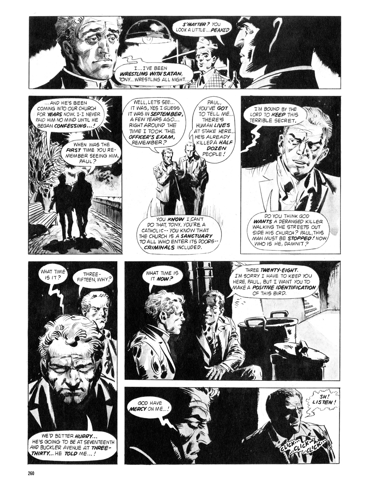 Read online Eerie Archives comic -  Issue # TPB 18 - 257