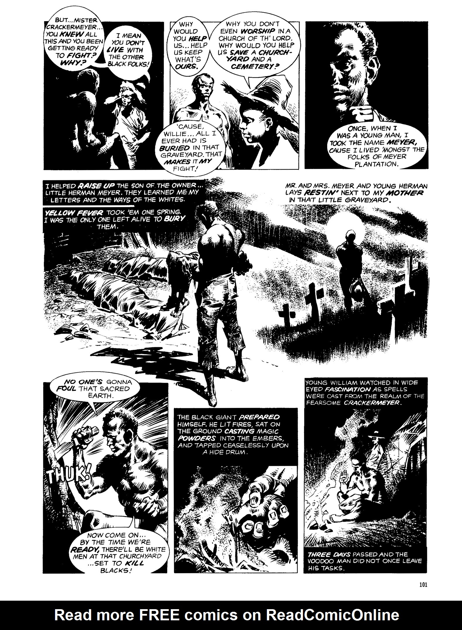 Read online Eerie Archives comic -  Issue # TPB 13 - 102