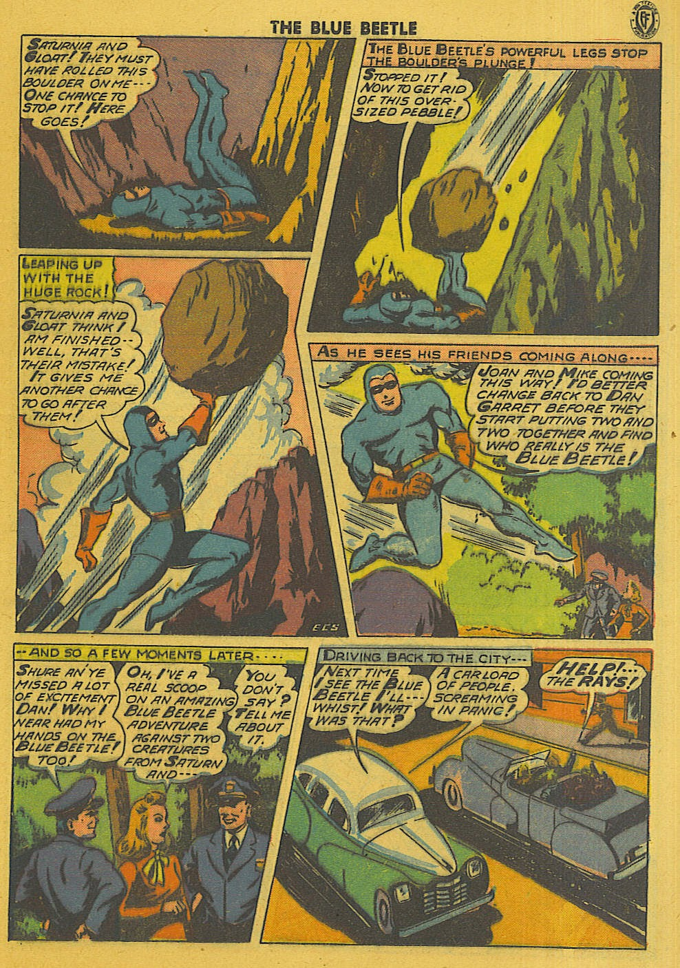 The Blue Beetle issue 35 - Page 14