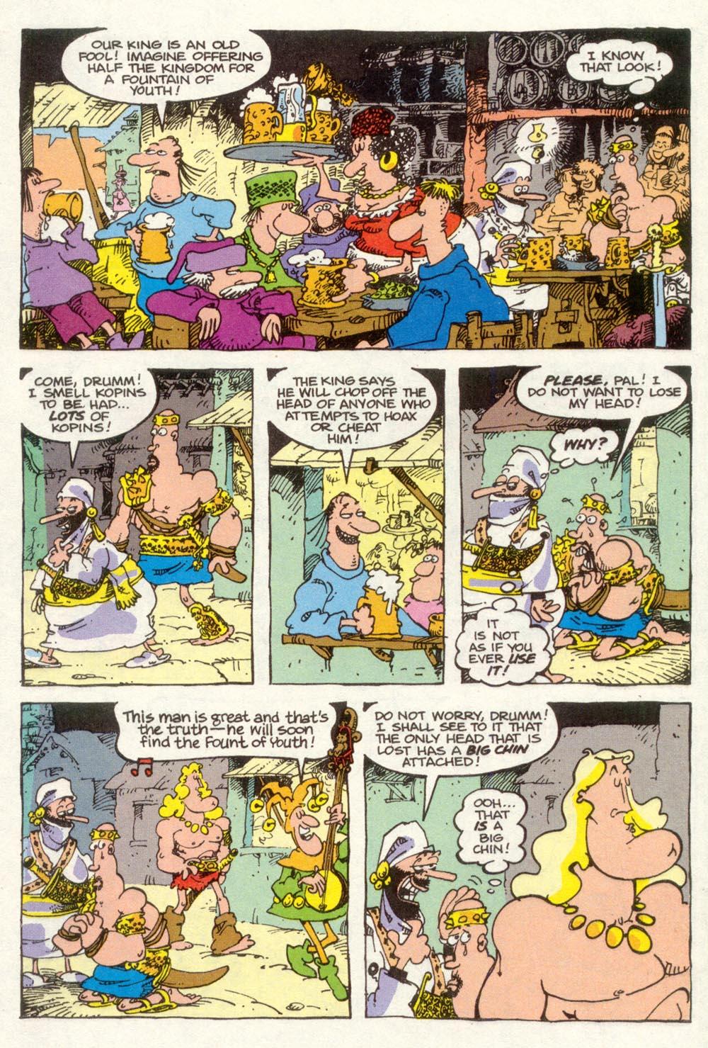 Read online Sergio Aragonés Groo the Wanderer comic -  Issue #92 - 7