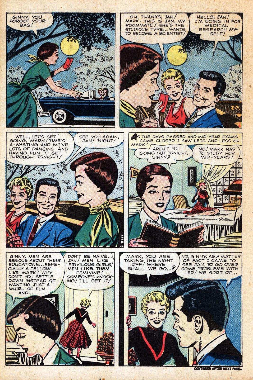 Love Romances (1949) issue 83 - Page 18