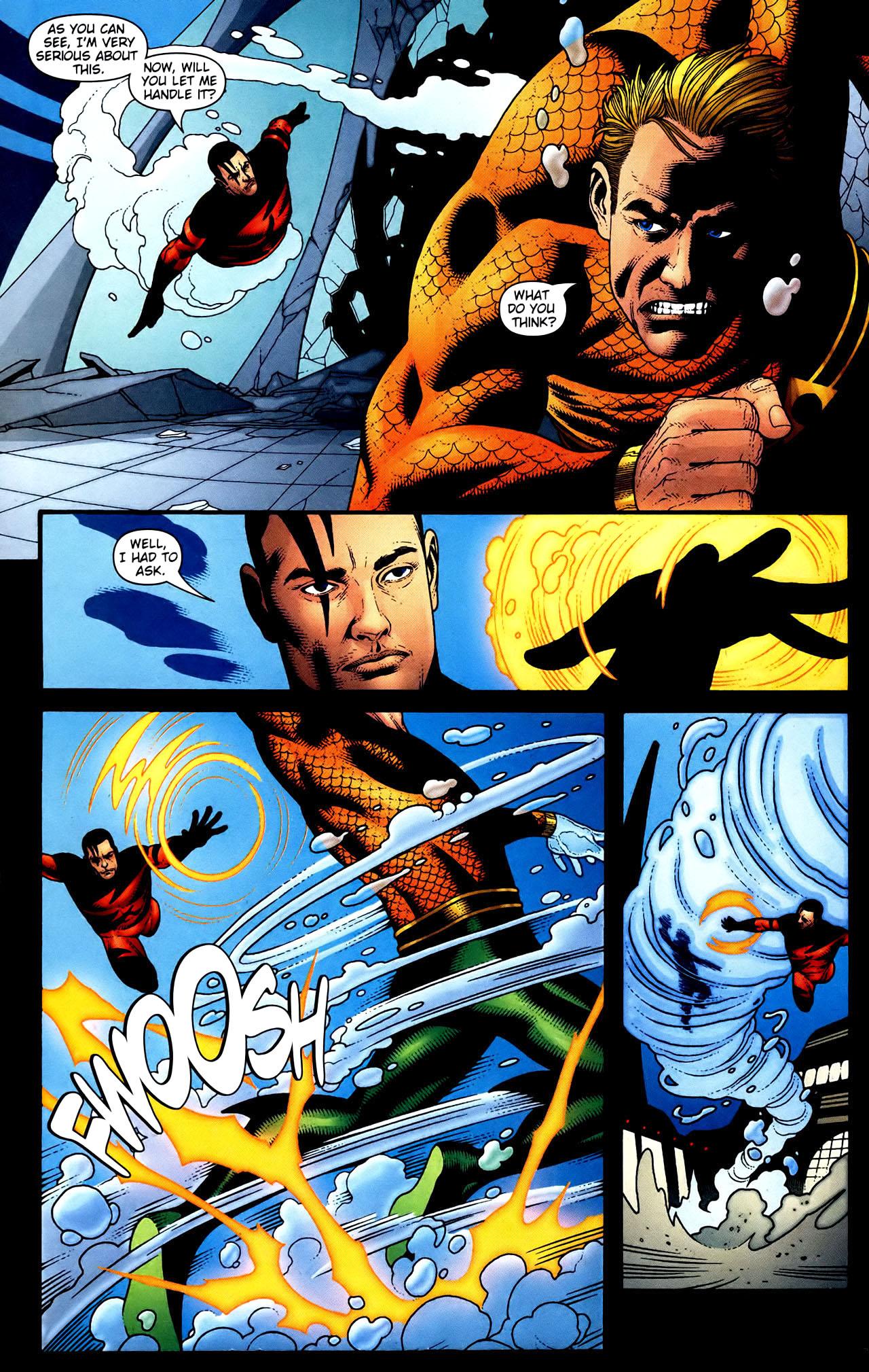 Read online Aquaman (2003) comic -  Issue #34 - 11