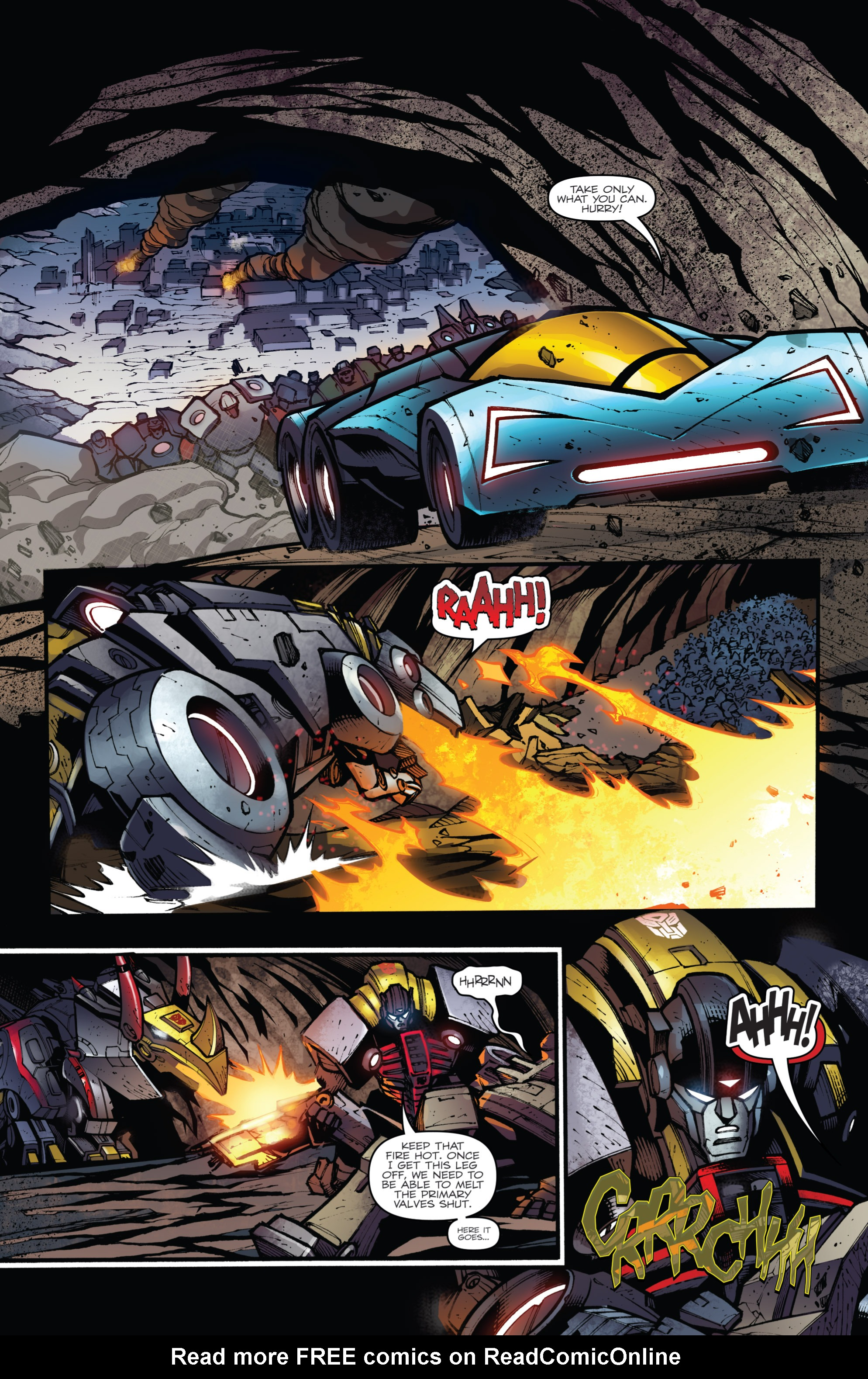 Read online Transformers Prime: Beast Hunters comic -  Issue #6 - 6
