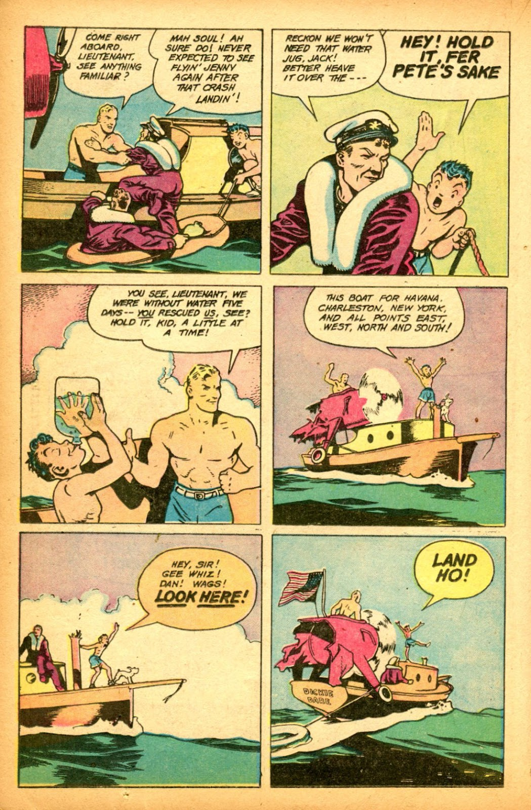 Read online Famous Funnies comic -  Issue #151 - 22
