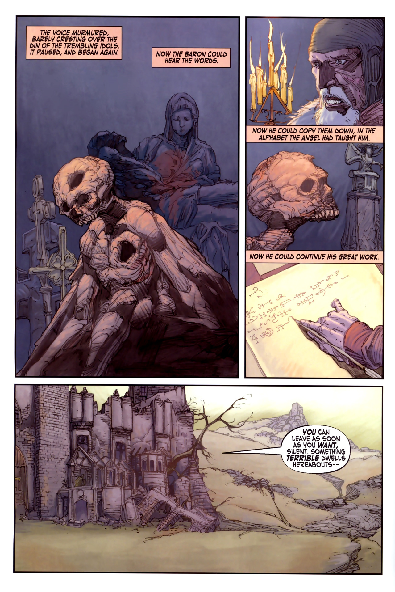 Read online Solomon Kane comic -  Issue #3 - 10