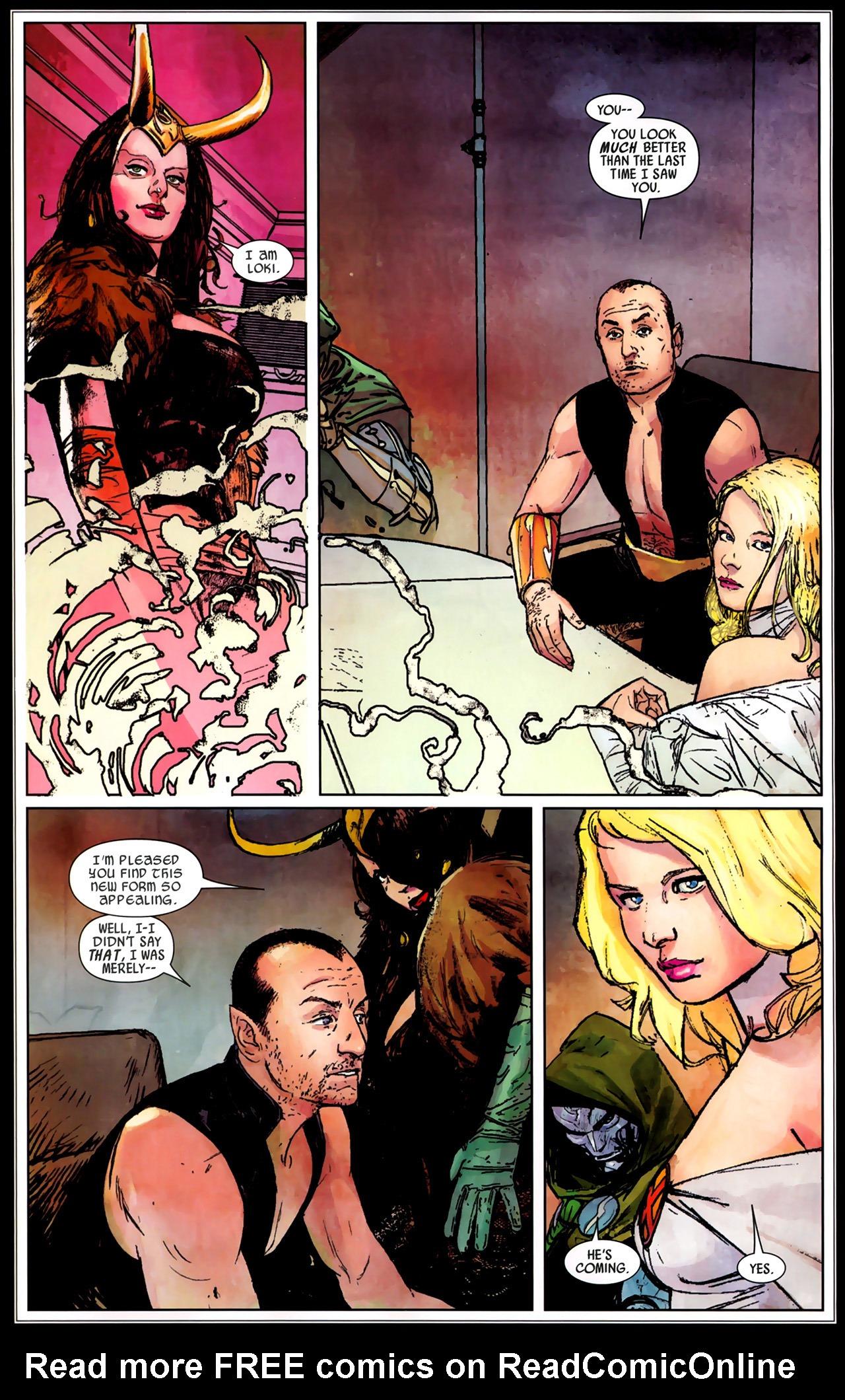 Read online Secret Invasion: Dark Reign comic -  Issue # Full - 10