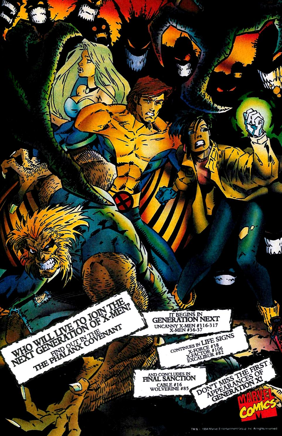X-Men (1991) 35 Page 21