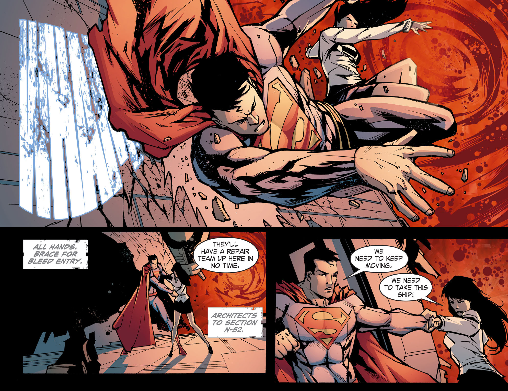 Read online Smallville: Chaos [II] comic -  Issue #8 - 19