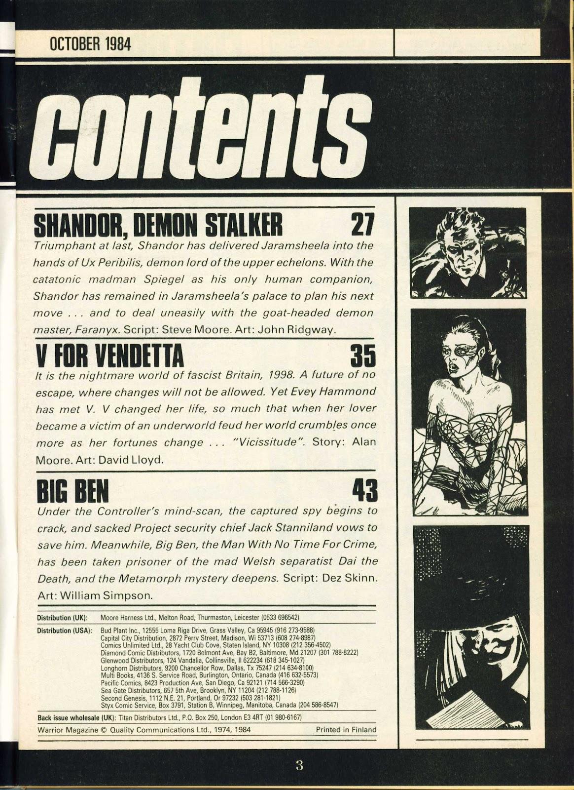 Warrior Issue #23 #24 - English 3