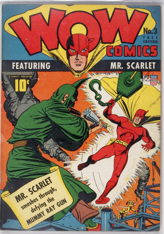 Wow Comics 3 Page 1