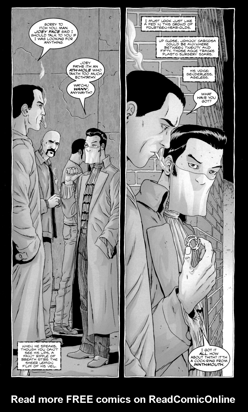 Read online Alan Moore's The Courtyard comic -  Issue #1 - 21