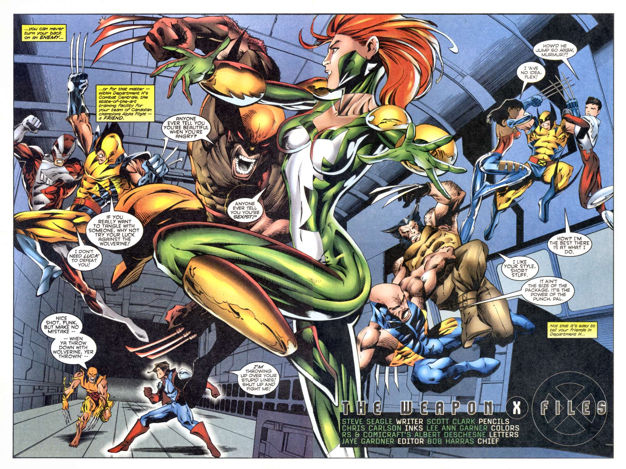 Read online Alpha Flight (1997) comic -  Issue #8 - 4