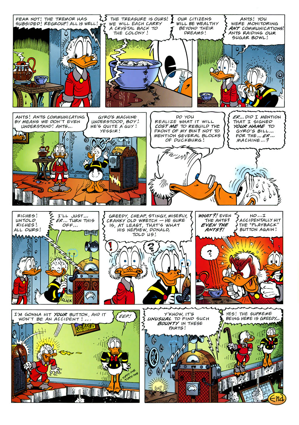 Read online Uncle Scrooge (1953) comic -  Issue #321 - 14