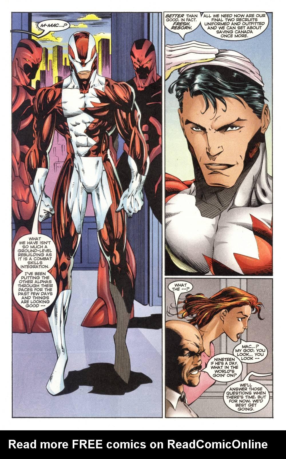 Read online Alpha Flight (1997) comic -  Issue #1 - 18