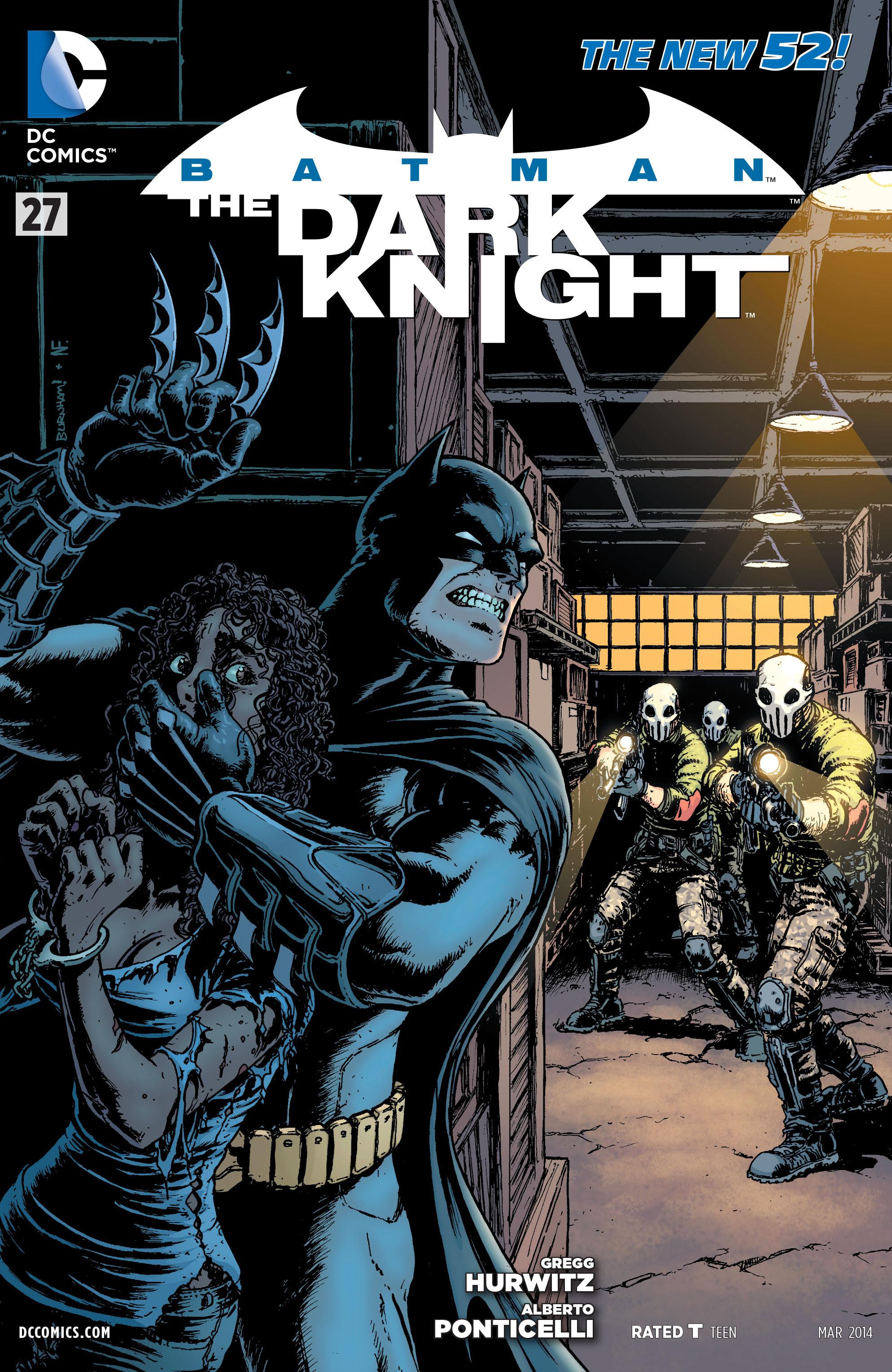 Batman: The Dark Knight [II] (2011) 27 Page 1