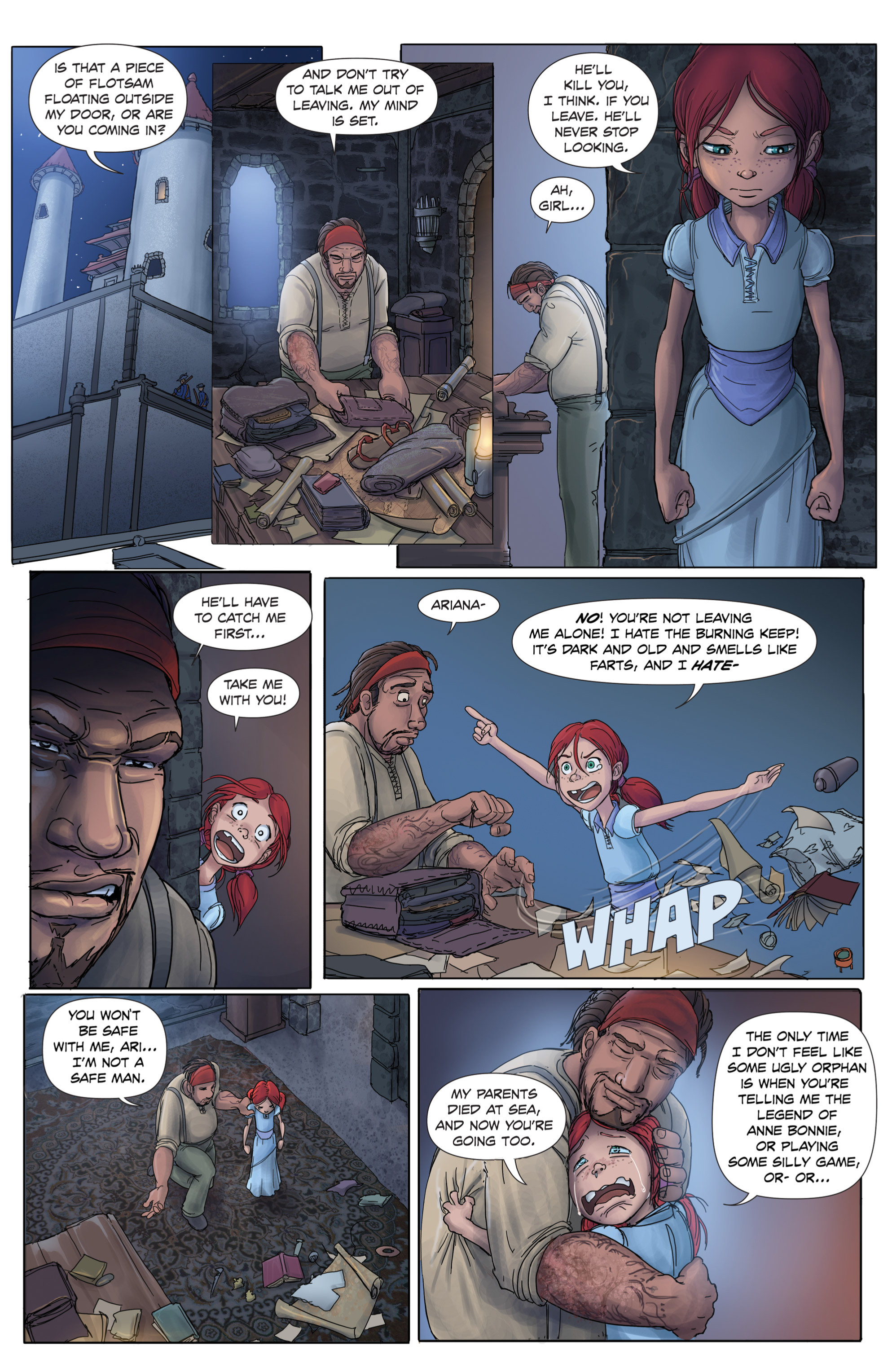 Read online Anne Bonnie comic -  Issue #1 - 9