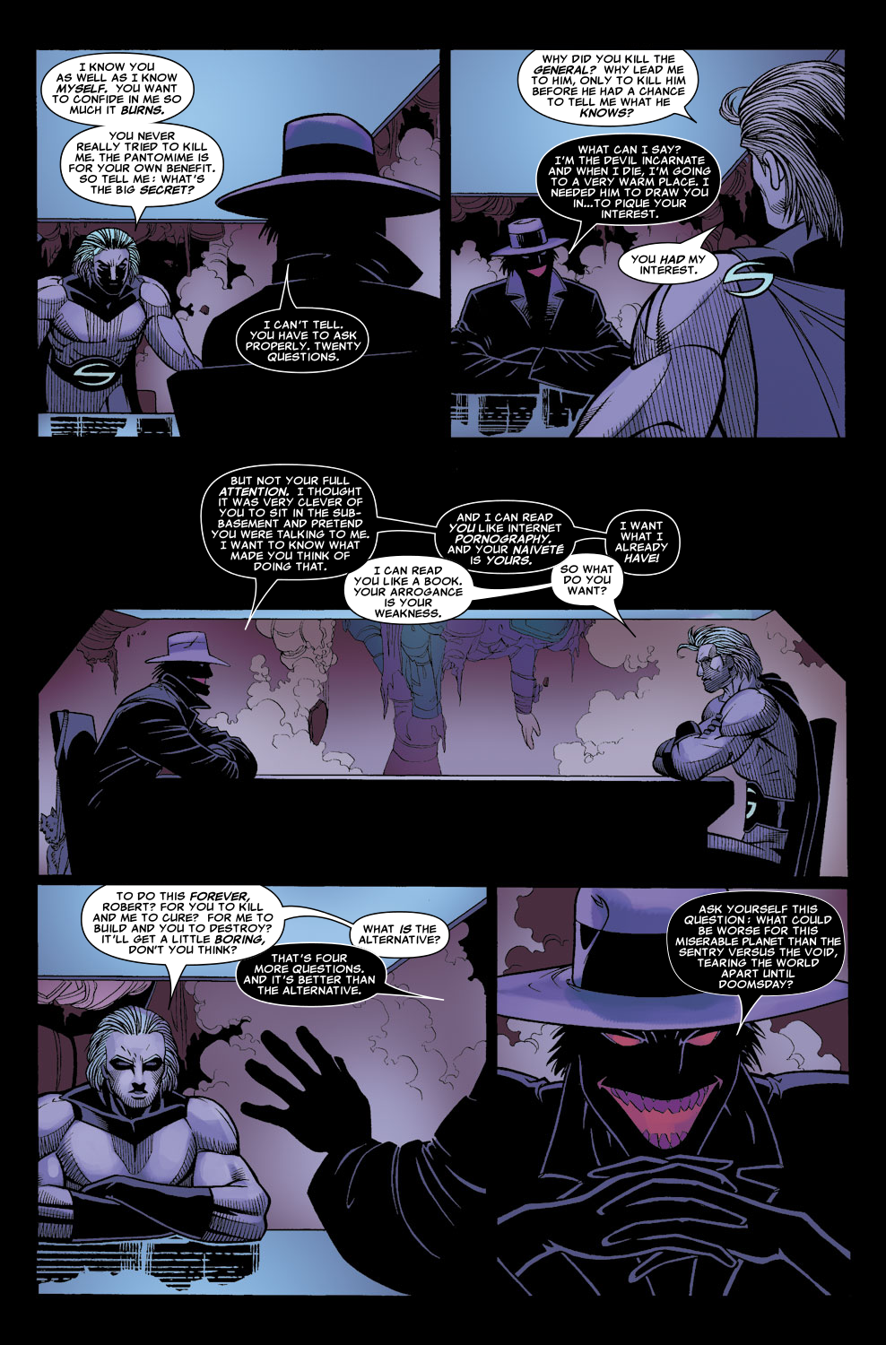 Read online Sentry (2006) comic -  Issue #8 - 11