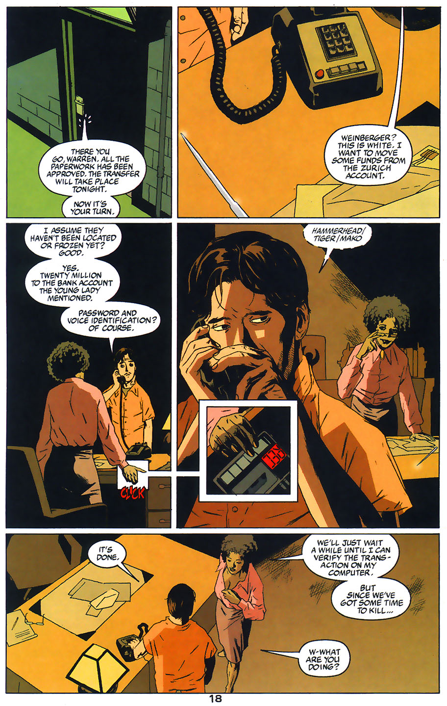 Read online Arkham Asylum: Living Hell comic -  Issue #1 - 20
