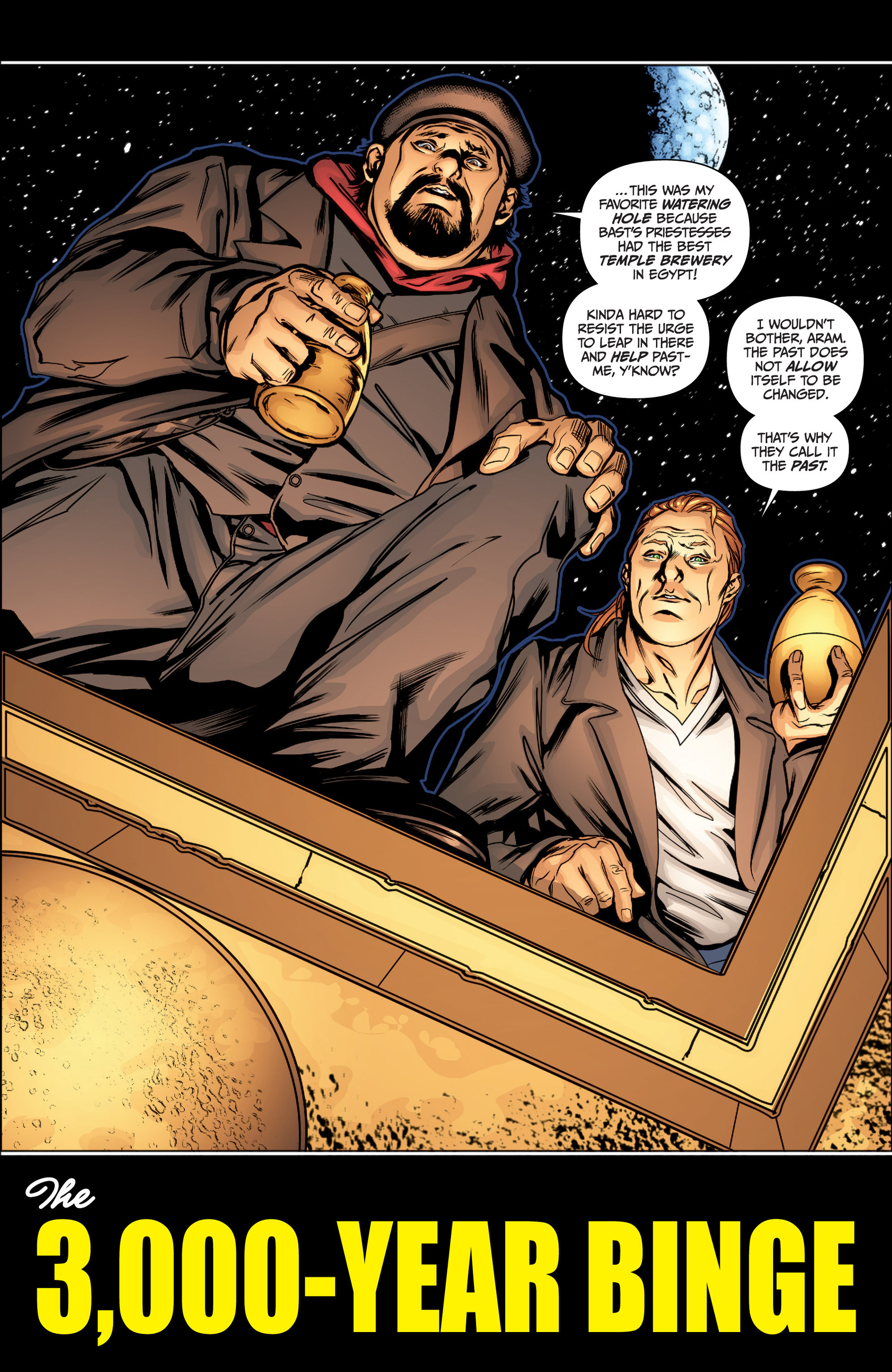 Read online Archer and Armstrong comic -  Issue #15 - 7