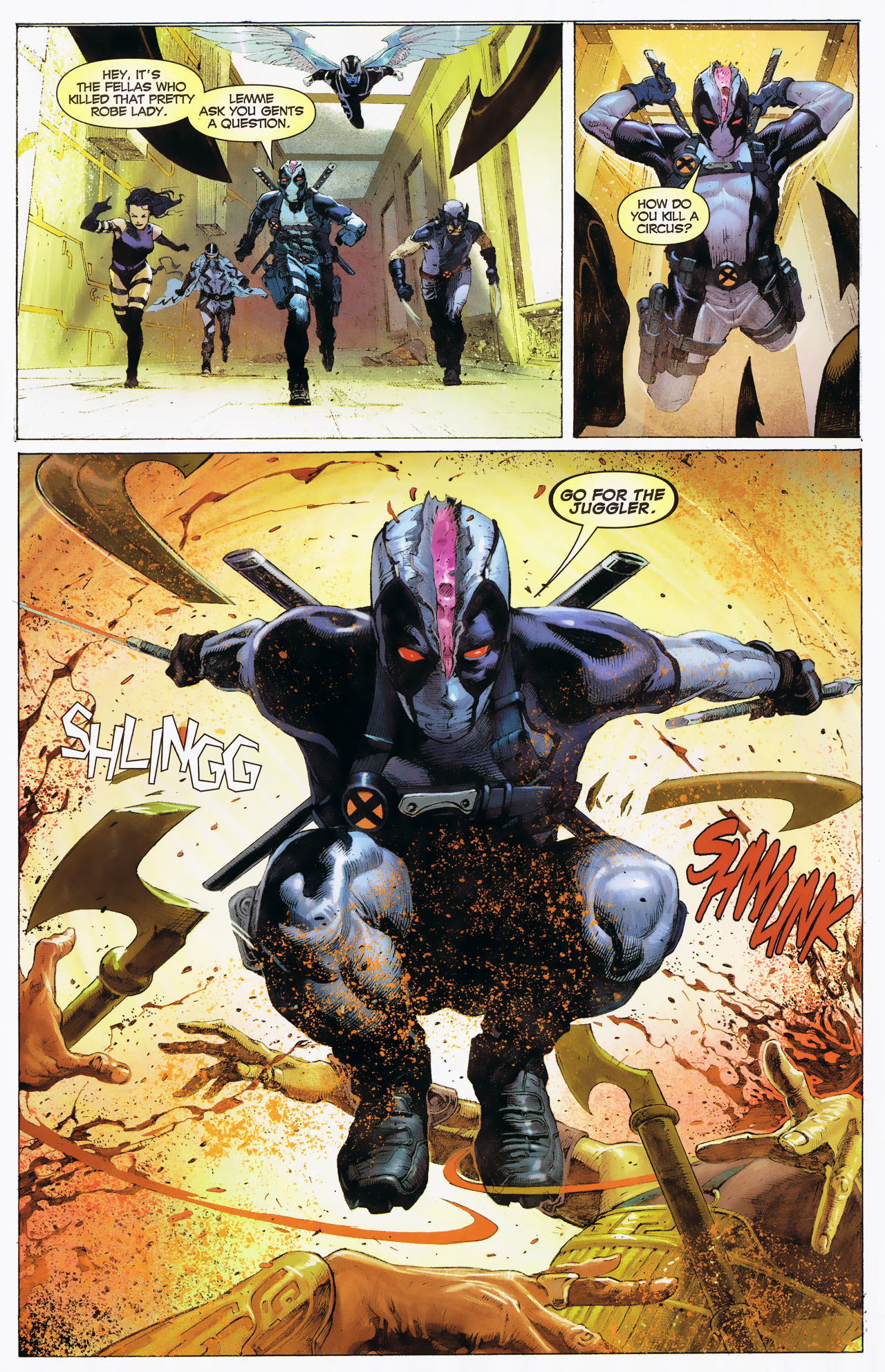 Read online Uncanny X-Force: The Apocalypse Solution comic -  Issue # Full - 24