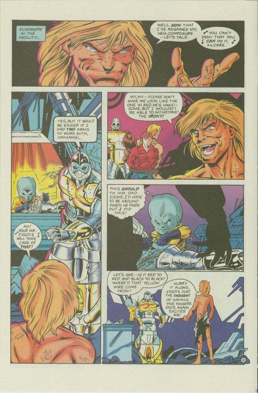 Read online Ex-Mutants comic -  Issue #7 - 15