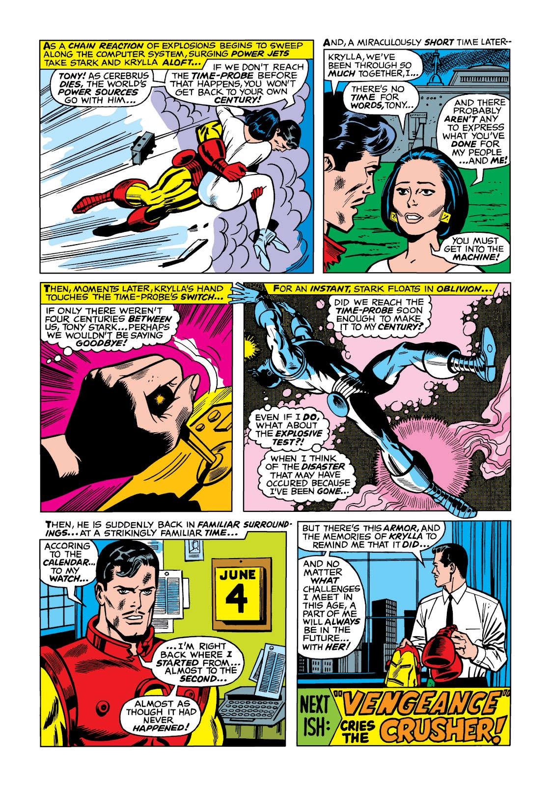 Read online Marvel Masterworks: The Invincible Iron Man comic -  Issue # TPB 5 (Part 1) - 90