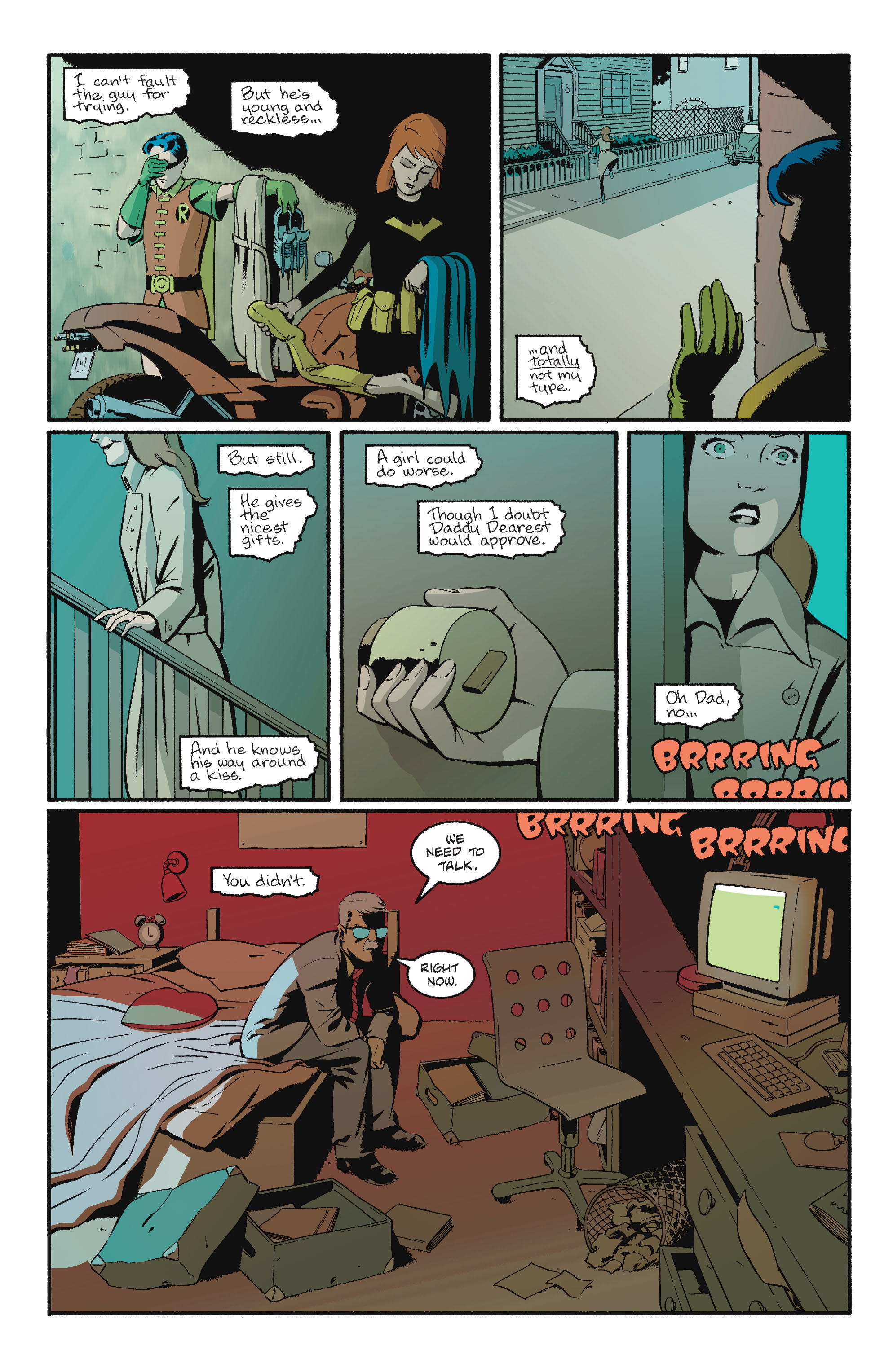 Read online Batgirl/Robin: Year One comic -  Issue # TPB 2 - 173