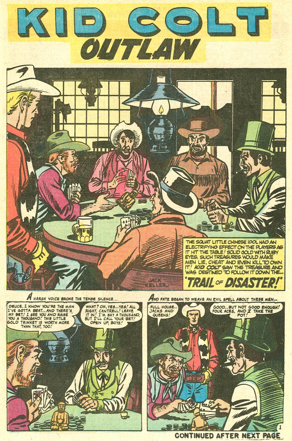 Kid Colt Outlaw issue 141 - Page 9