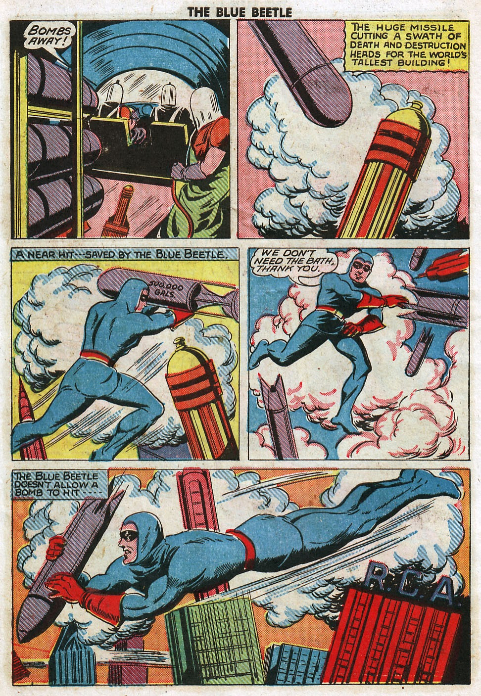 The Blue Beetle issue 33 - Page 44
