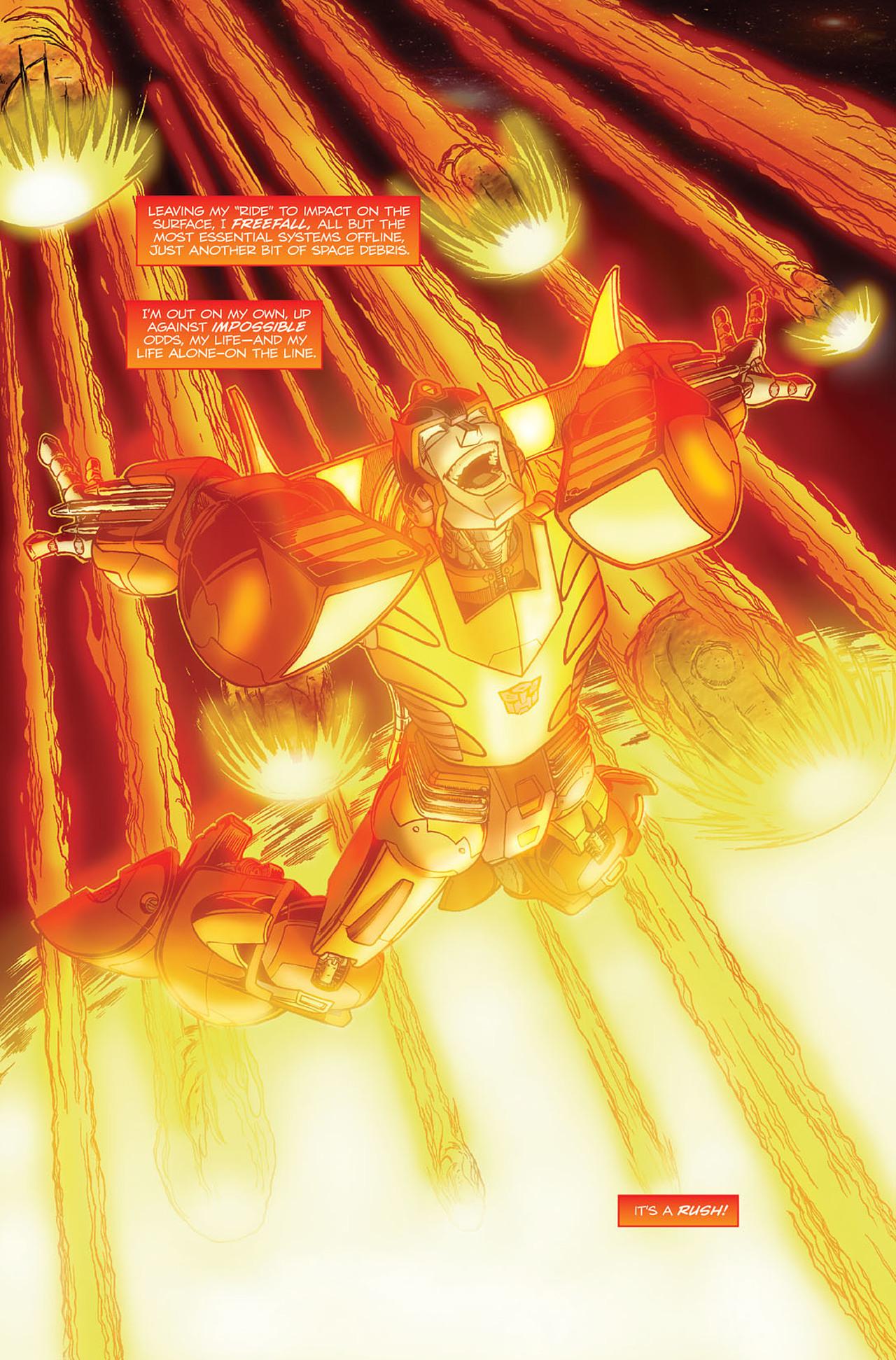 Read online Transformers Spotlight: Hot Rod comic -  Issue # Full - 4