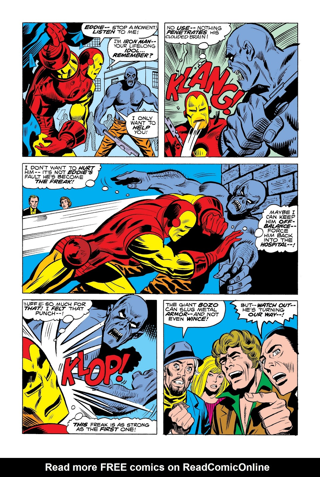 Read online Marvel Masterworks: The Invincible Iron Man comic -  Issue # TPB 9 (Part 3) - 85