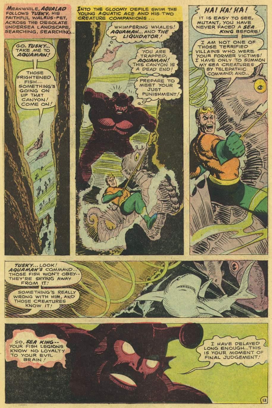 Read online Aquaman (1962) comic -  Issue #38 - 19