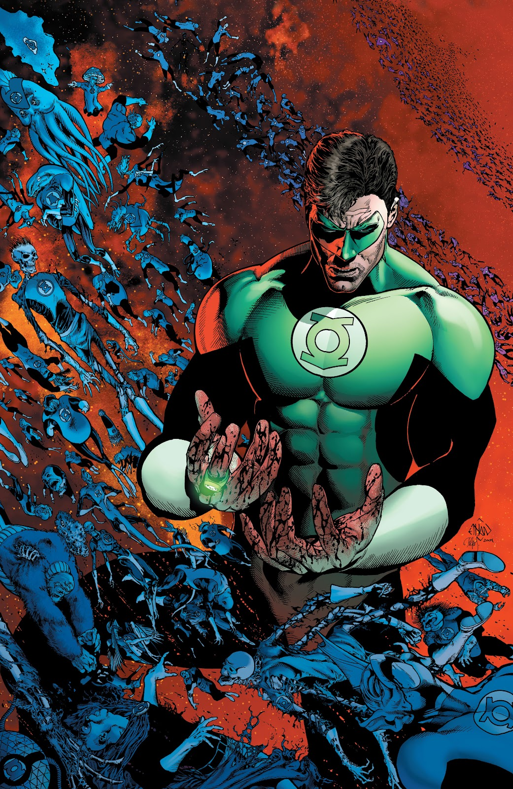 Read online Green Lantern by Geoff Johns comic -  Issue # TPB 1 (Part 1) - 42