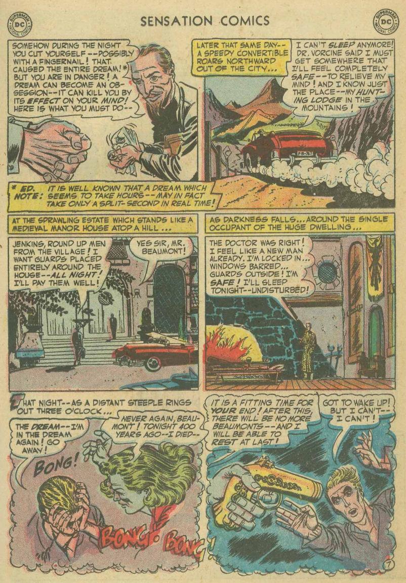 Read online Sensation (Mystery) Comics comic -  Issue #107 - 19