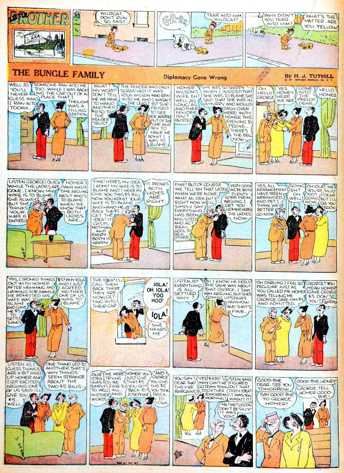 Read online Famous Funnies comic -  Issue #13 - 42