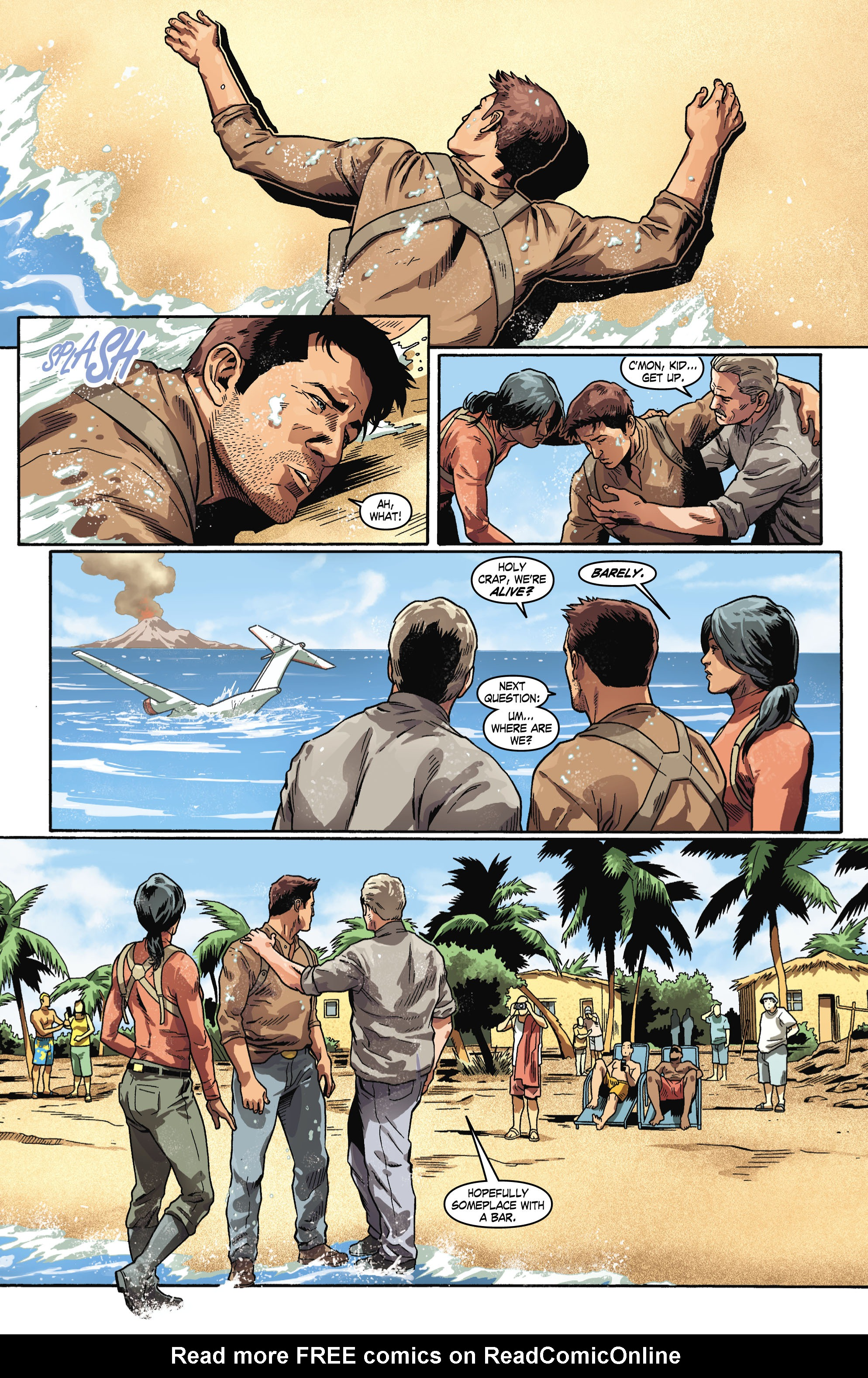 Read online Uncharted comic -  Issue #6 - 18