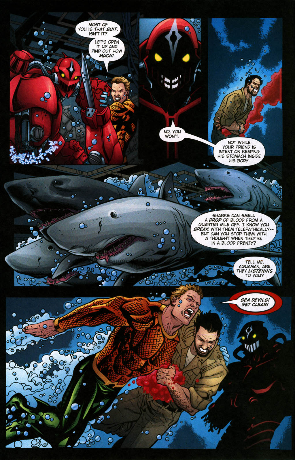 Read online Aquaman (2003) comic -  Issue #24 - 5