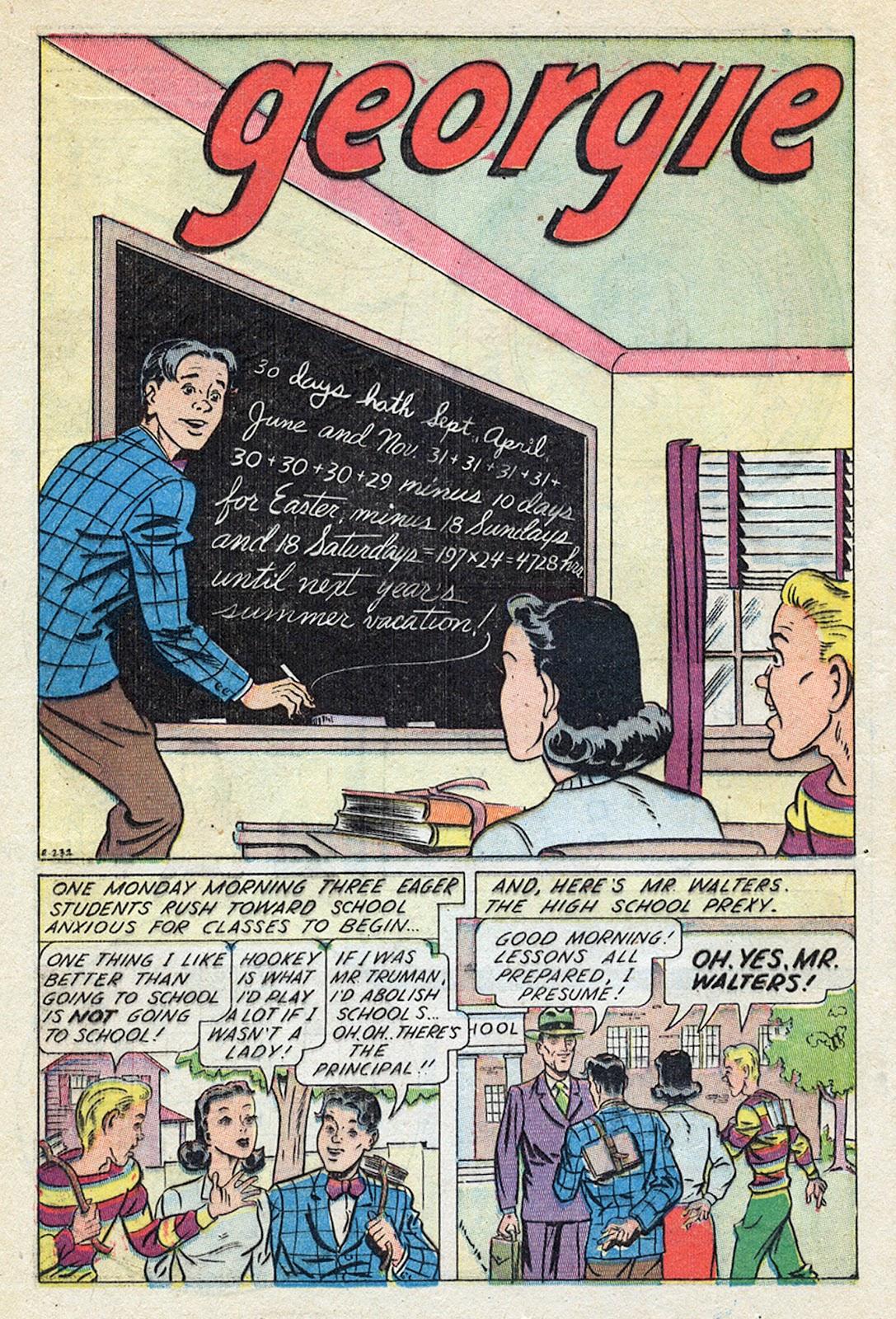 Georgie Comics (1945) issue 4 - Page 18