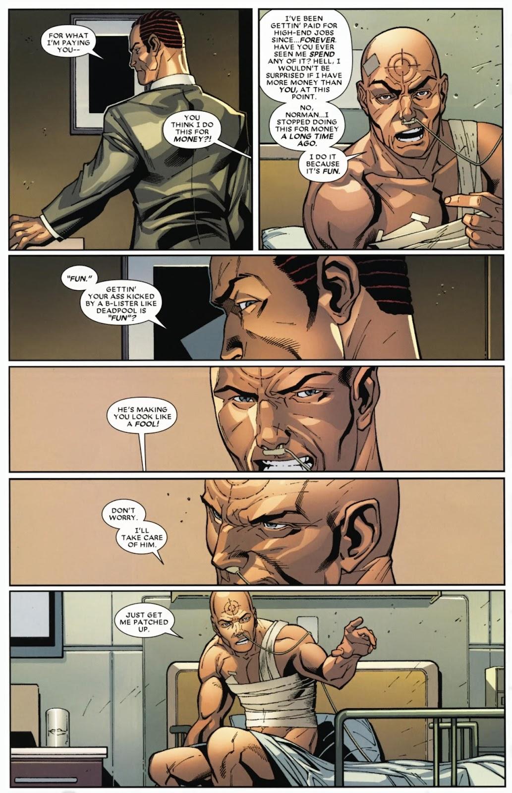 Read online Deadpool (2008) comic -  Issue #12 - 8